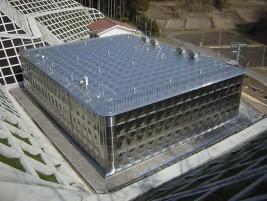 ステンレスパネル配水池