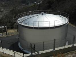 円筒形配水池